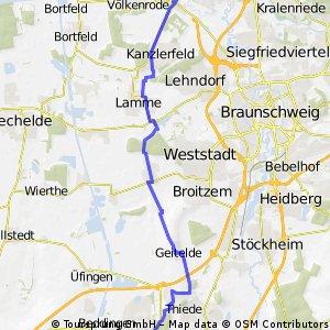 Arbeitsweg VW