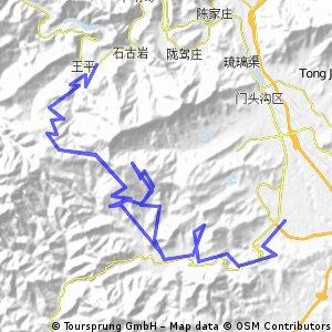 Tanzhe Temple 80 km