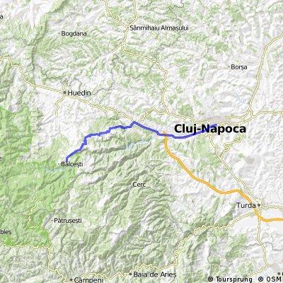 Cluj - Capusu Mare - Dangau Mare - Rasca - Belis