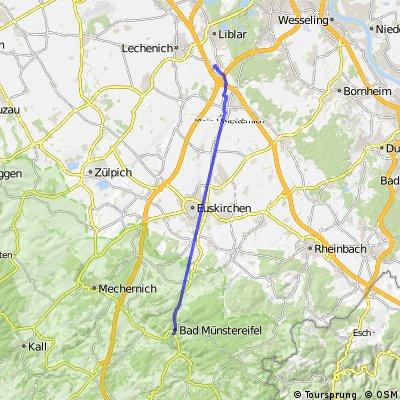 Münstereifel-Ivesheim nach Münstereifel Stadtverwaltung