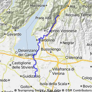 Ciclopista del Sole (eurovelo 7) - Part 5