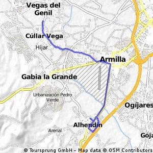 7ª Eta Ahendin Neutralizado 11 ,6 km