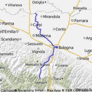 Ciclopista del Sole (eurovelo 7) - Part 6