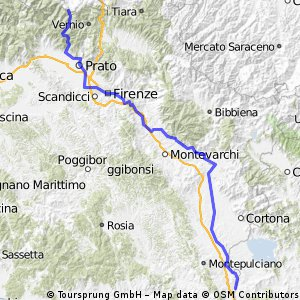 Ciclopista del Sole (eurovelo 7) - Part 7