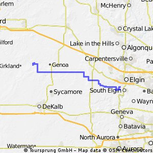 south elgin route