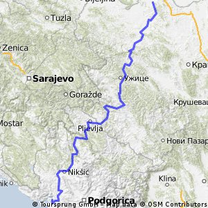Vacation 2014 part 1 - Belgrad - Dobrota (Monte Negro)