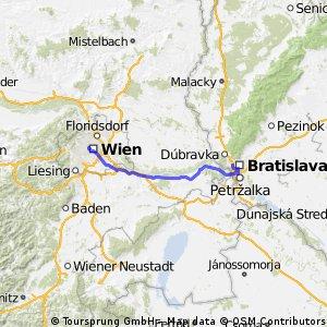 Wien - Bratislava