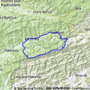 Czechy - Javorniky