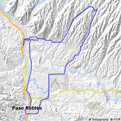 Paso Robles north east