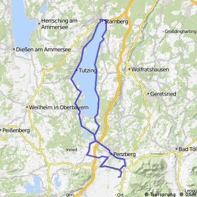 BK01dJH Benediktbeuern - Starnberger See