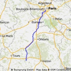 Chatillon - Chateauvieux 230km