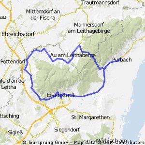 Purbach- Leithagebirge- Purbach