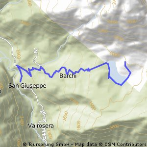 Lago Palù da San Giuseppe