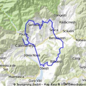 Calimanesti - Serbanesti - Seaca - Babuesti - Jiblea Veche / Cozia MTB 2014 - tura scurta