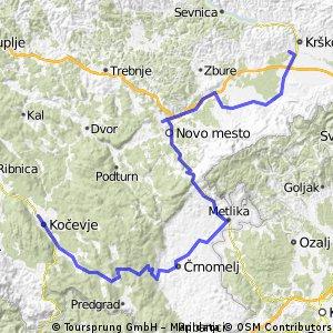 TopDom Tour 1. del Krško - Kočevje