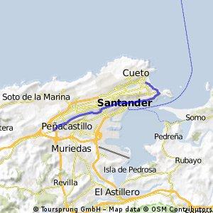 14ª Eta Santander , Neutralizado 10 km