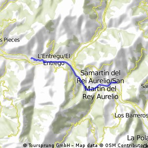 16ª Eta San Martín del Rey Aurelio,Neutralizado 6 km