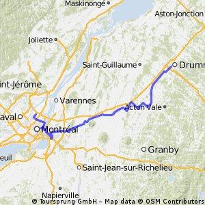 Drummondville - Montréal