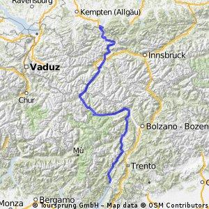 AlpenX - Füssen nach Riva
