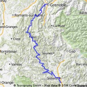 Grenoble-Sisteron
