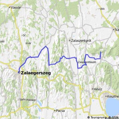 Béke Sztúpa túra Zalaszántóra Zalaegerszegről