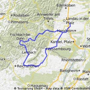 2014 Südpfalz mit Berwartstein