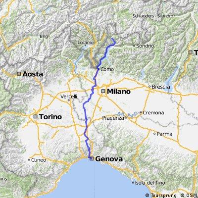 Genova - Lago di Como