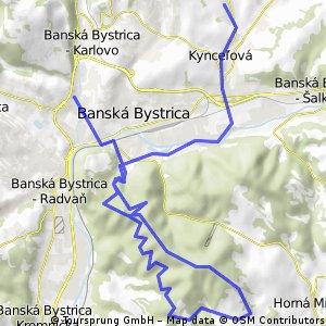 Medeny hamor - Uhlisko - Vartovka - Petovska dolina - Kozlinec - Uhlisko - Nemce