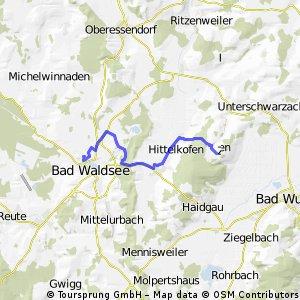 Waldsee - Grabenerhöhe