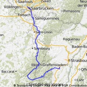 Tour de Franz hin