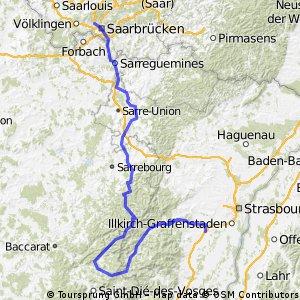 Tour de Franz hin Ausweichstrecke