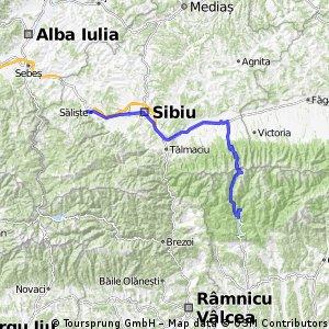 Transfagarasan & Transalpina ziua 3 Lacul Vidraru - Saliste