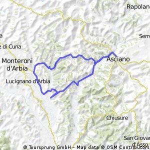 Italië - 22 juli - Valdarbia Ombrone
