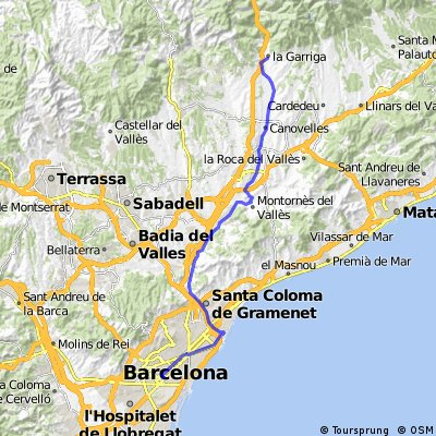 Barcelona-La Garriga