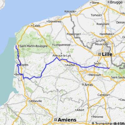 Etappe 3 Tour de France 2012