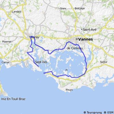 Rund um den Golf de Morbihan