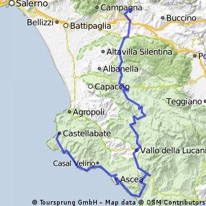 7. Contursi Terme - Castellabate