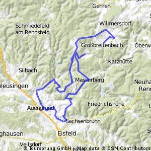 tou durch Südthüringen