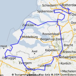 Tour Rotterdam Bruges