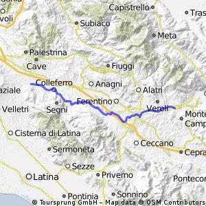 Artena-Frosinone-Casamari
