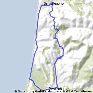 San Gregario/Pescadero Loop