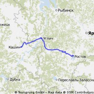 Кашин-Углич-Борисоглебский-Ростов(Великий)