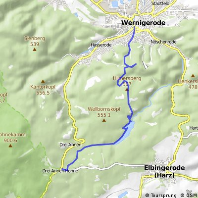 Drei Annen Hohne - Wernigerode