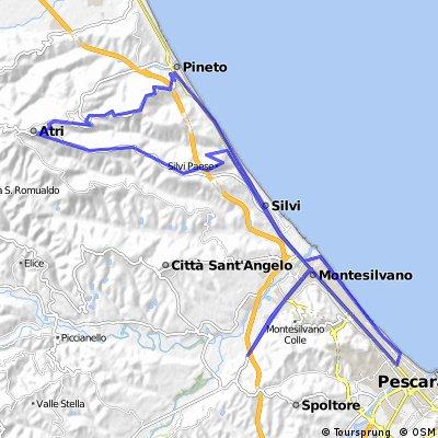 Via Vestina - ristorante - Mutignano - Atri