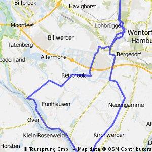 Zollenspieker Ortkaten Tour