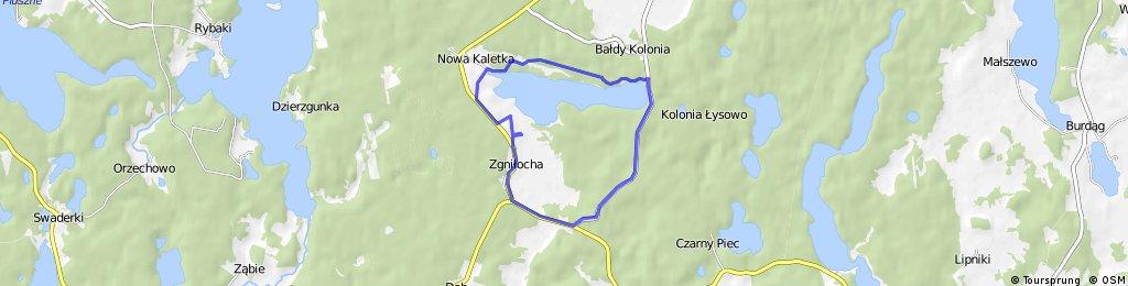 Dookoła jeziora Gim