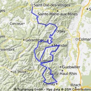 Vogesen Route