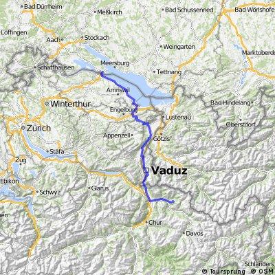Konstanz - Stelserberg (CH)