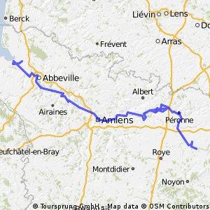 Voie verte Amiens - Somme
