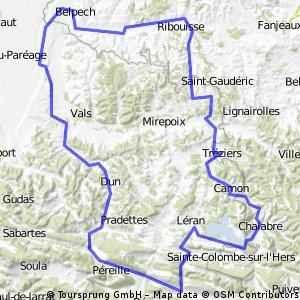 Lavelanet-Boucle 120Km
